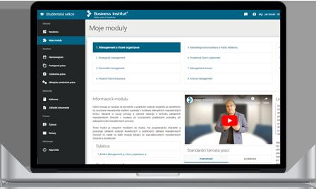 Moderný e-learningový systém s videoprednáškami a  online knižnicou