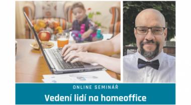"""Online seminár """"Vedenie ľudí na homeoffice"""" s firemným sociológom Vojtechom Bednářom 3. 2. 2021"""